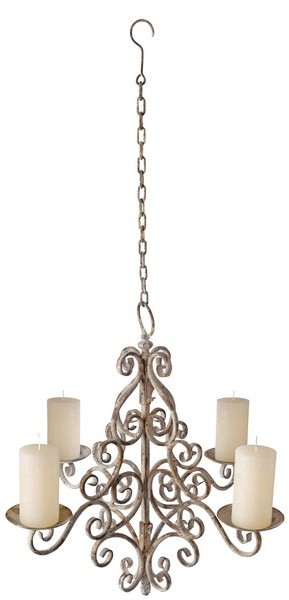 Esschert Design Aged Metal Chandelier (AM06 - 8714982040702) | Trends & Vision