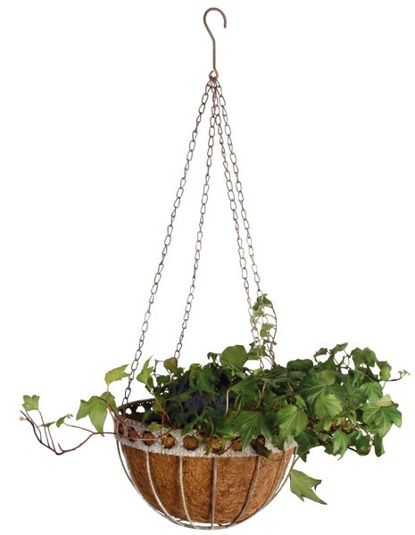 Esschert Design Aged Metal hanging basket large (AM22 - 8714982044656) | Trends & Vision