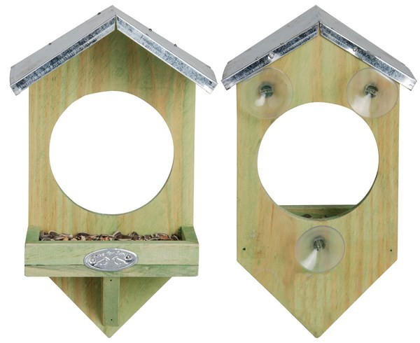 Esschert Design Windowbirdfeeder                                                                (FB4 - 8714982002496) | Trends & Vision