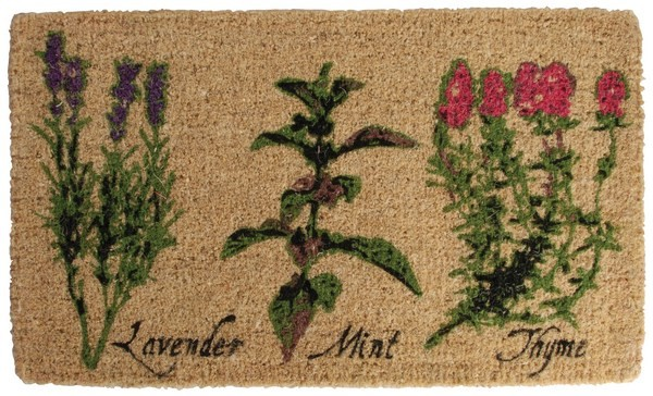 Esschert Design Doormat herb print (HD14 - 8714982059070) | Trends & Vision