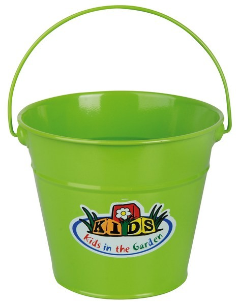 Esschert Design Kids Zinc Bucket green (KG93 - 8714982063237) | Trends & Vision
