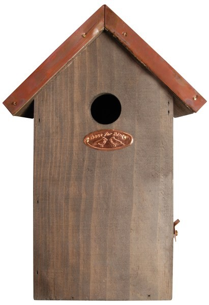 Esschert Design Antique wash bird house blue tit copper roof                                    (NK05 - 8714982011177) | Trends & Vision