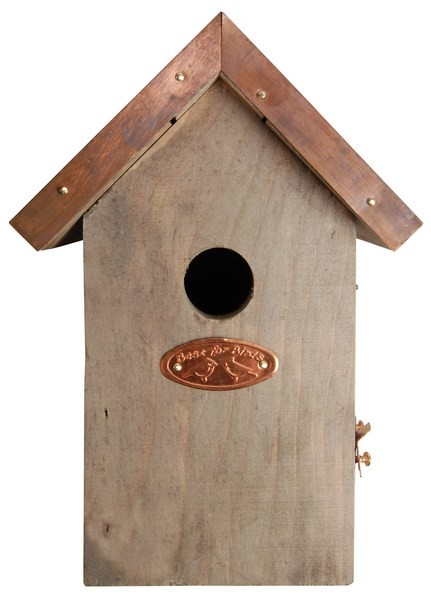 Esschert Design Antique wash bird house wren copper roof                                        (NK06 - 8714982011184) | Trends & Vision