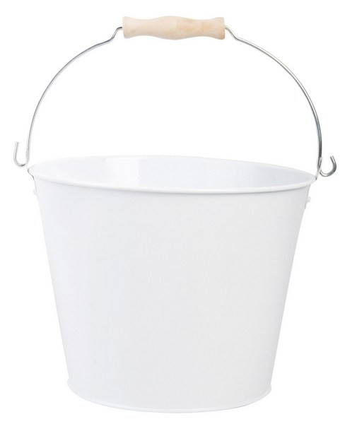 Esschert Design 4.5L bucket white (RD23 - 8714982059926) | Trends & Vision