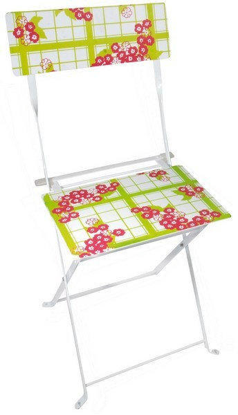 Esschert Design Chair teatowel & flower print (TD01 - 8714982057236) | Trends & Vision
