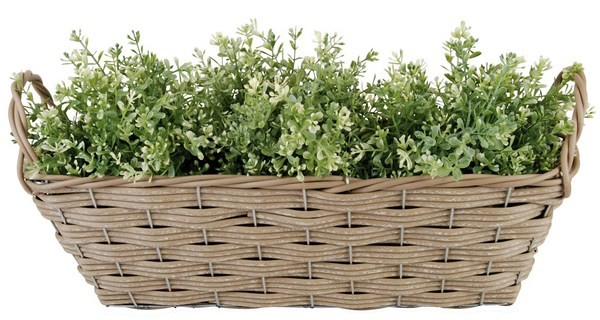 Esschert Design Artificial rectangular basket (WB23 - 8714982064869) | Trends & Vision