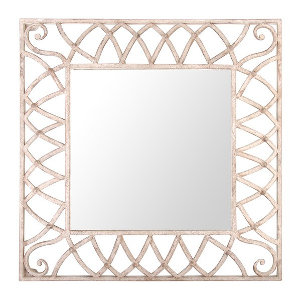 Esschert Design Aged Metal mirror square (AM62 - 8714982076404) | Trends & Vision
