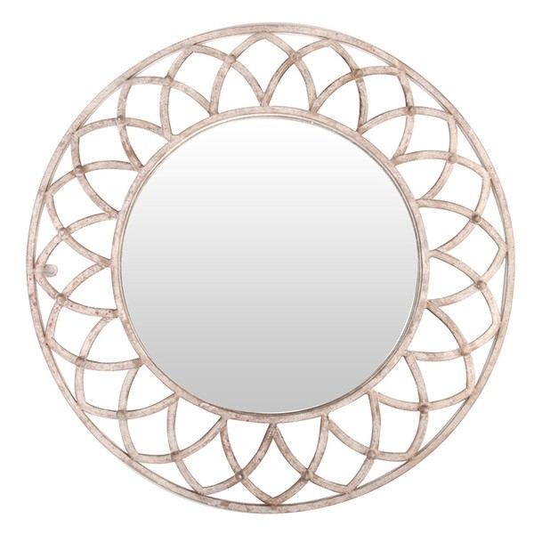 Esschert Design Aged Metal mirror round (AM63 - 8714982076411) | Trends & Vision