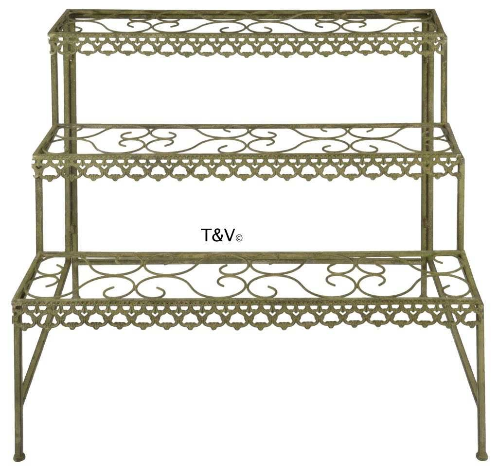 Esschert Design Aged Metal Green etagere (AM76 - 8714982115769) | Trends & Vision