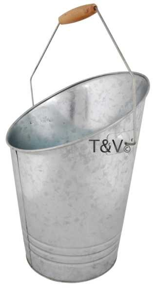 Esschert Design Zinc coal bucket (FF145 - 8714982081378) | Trends & Vision