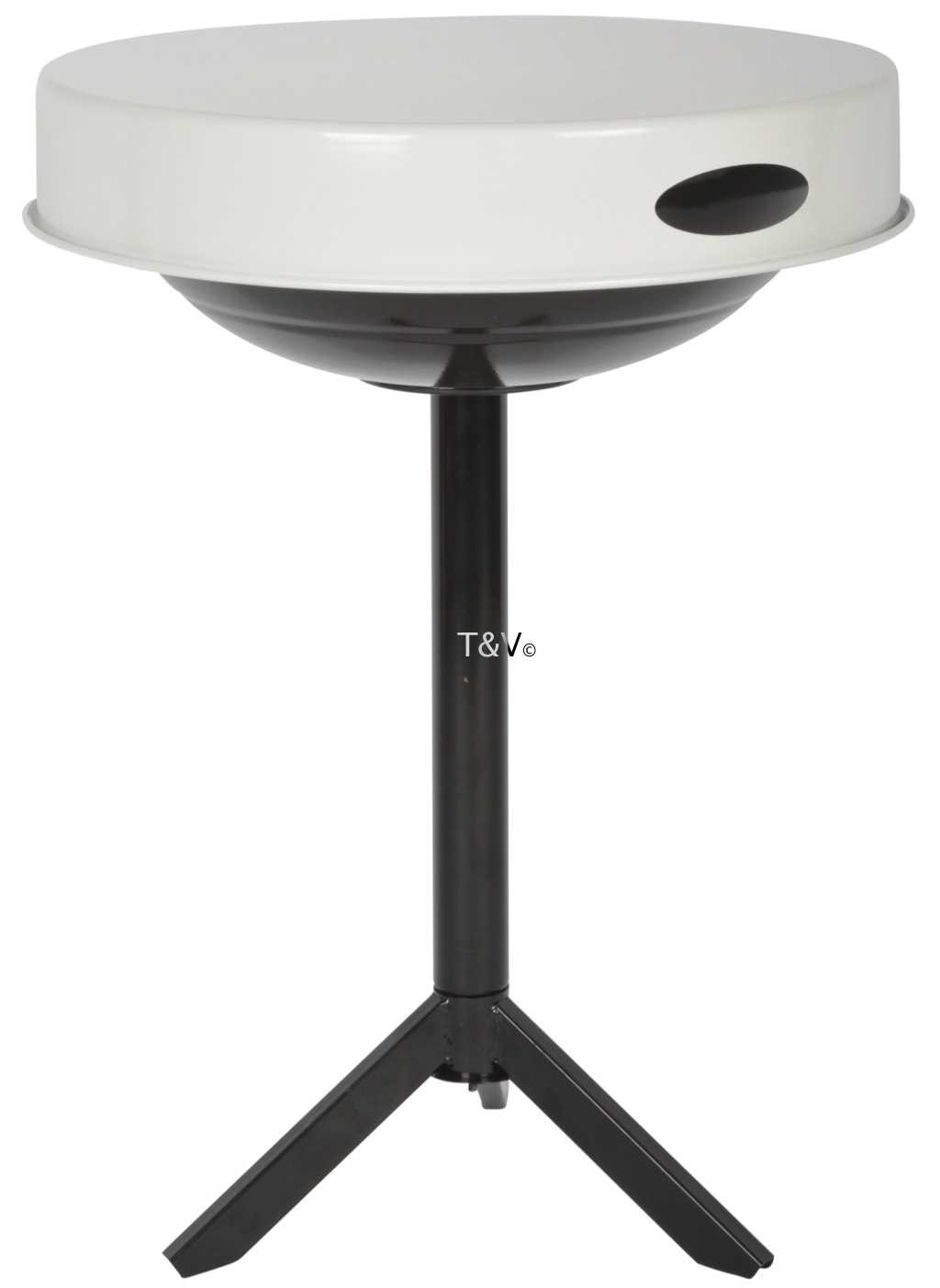 Esschert Design BBQ table white (FF236 - 8714982112713) | Trends & Vision