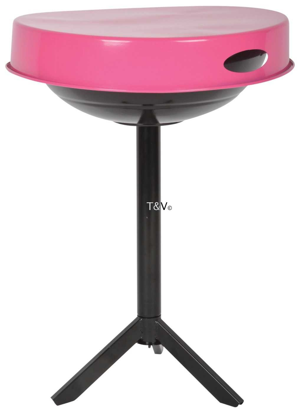 Esschert Design BBQ table pink (FF250 - 8714982120473) | Trends & Vision