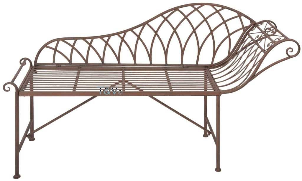 Esschert Design Chaise longue metal (MF016 - 8714982115653) | Trends & Vision
