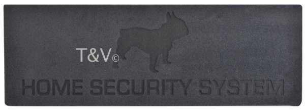 "Esschert Design ""Home security"" relief doormat (RB172 - 8714982107399) 