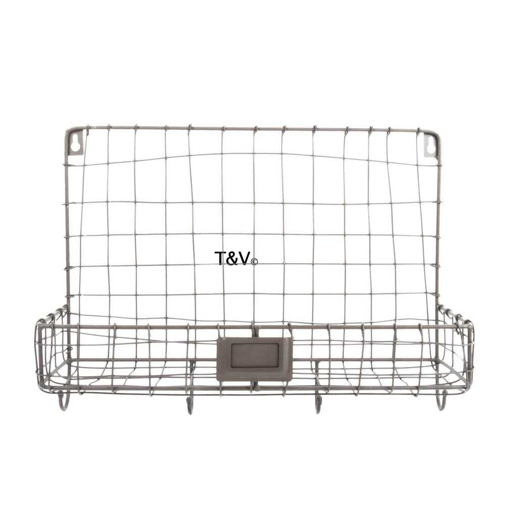 Esschert Design Wire wall organizer 1 compartment (WB40 - 8714982157615) | Trends & Vision