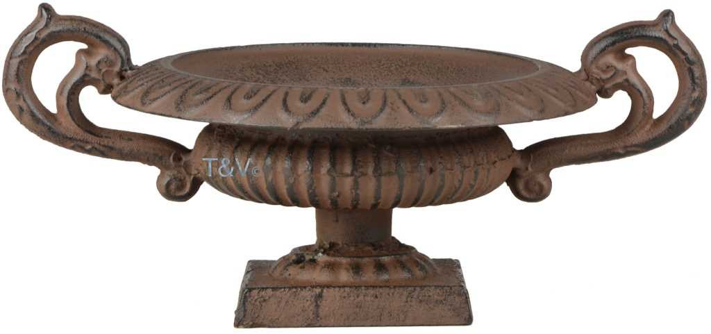Design French urn low with handles S (XH71 - 8714982123177) | Trends ...
