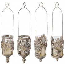 Esschert Design Aged Metal Hanging lantern 4 styles assorted | Trends & Vision