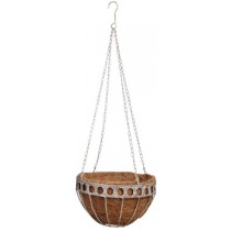 Esschert Design Aged Metal hanging basket small | Trends & Vision