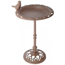 Esschert Design Cast iron birdbath on long pole                                                      | Trends & Vision