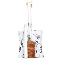 Esschert Design Dustpan & brush herb print | Trends & Vision