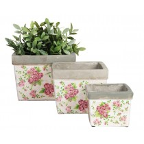 Esschert Design Flower pot rose print | Trends & Vision