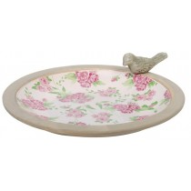 Esschert Design Bird bath rose print | Trends & Vision