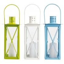 Esschert Design Lantern small Russian Flowers print | Trends & Vision