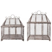 Esschert Design Wire Conservatory assorted S/L - Aged Metal | Trends & Vision