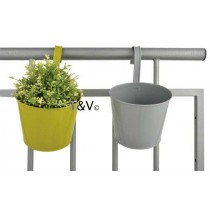 Esschert Design Balcony flowerpot with hook ass. | Trends & Vision