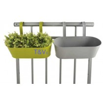 Esschert Design Balcony planter with hooks ass. | Trends & Vision