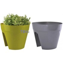 Esschert Design Balcony saddle flower pot ass. | Trends & Vision
