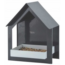 Esschert Design Wall bird table anthracite/white | Trends & Vision