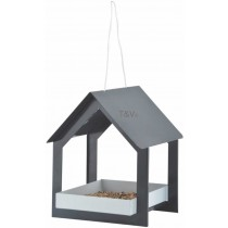 Esschert Design Hanging bird table anthracite/white | Trends & Vision