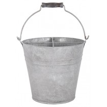 Esschert Design Bucket with 4 compartments - Old zinc | Trends & Vision