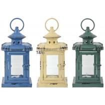 Esschert Design Vintage lantern 3 colours choice S | Trends & Vision
