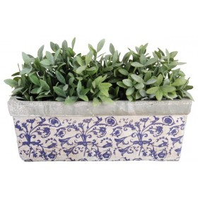 Balcony planter Aged Ceramic
