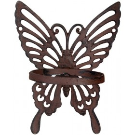 Flower pot holder butterfly