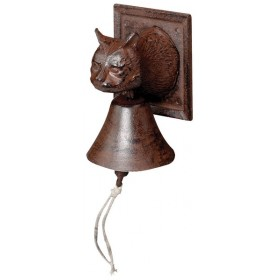 Doorbell cat head