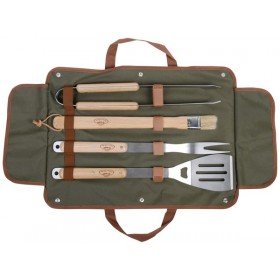 BBQ tools set in bag