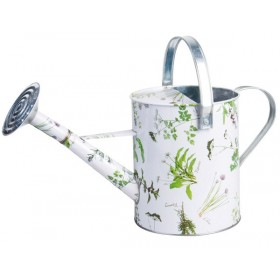 Watering can herb print