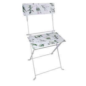 Chair herb print
