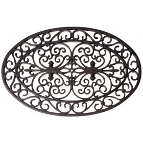 Rubber doormat oval 70*46