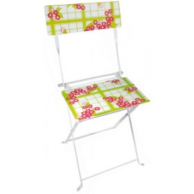 Chair teatowel & flower print