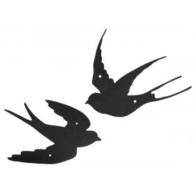 Walldecoration swallow assorted