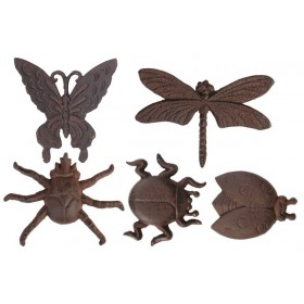 Walldecoration assorted insects