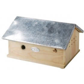 Bumble bee house zinc roof