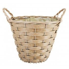Artificial basket round small