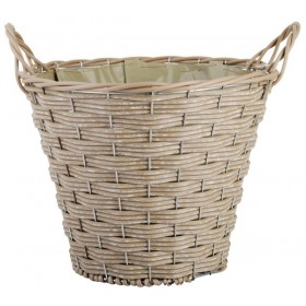 Artificial basket round middle