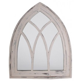 Mirror Gothic white wash