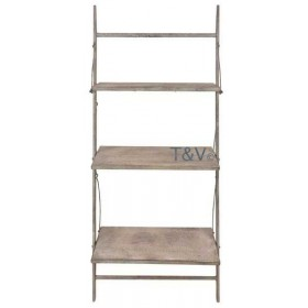 Aged Metal Wall plant ladder S